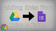 Adding links from Google Drive to a Google Form