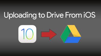 Uploading to Drive from iOS