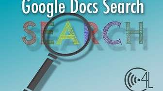 Using Search in Google Docs